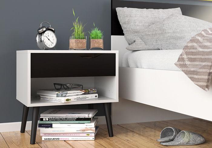 Szafki nocne idealnie dopasowane do stylu sypialni